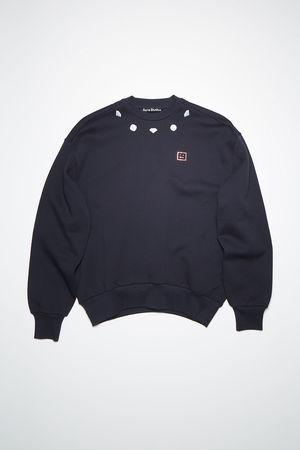 Acne Studios  FA-UX-SWEA000079 Navy  Relaxed sweatshirt