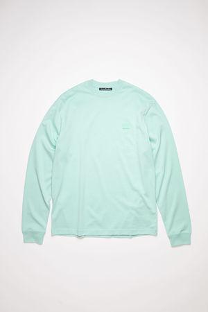 Acne Studios  FA-UX-TSHI000052 Spearmint green  Long sleeve t-shirt grau