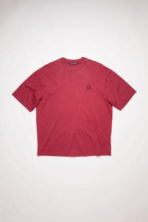 Acne Studios  FA-UX-TSHI000058 Deep red  Relaxed fit t-shirt grau