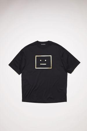 Acne Studios  FA-UX-TSHI000067 Black  Logo t-shirt grau
