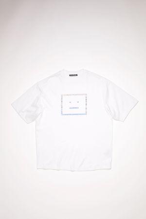 Acne Studios  FA-UX-TSHI000067 Optic White  Relaxed fit t-shirt grau