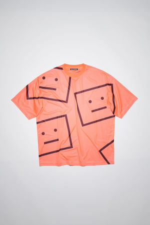 Acne Studios  FA-UX-TSHI000068 Electric pink Relaxed fit t-shirt