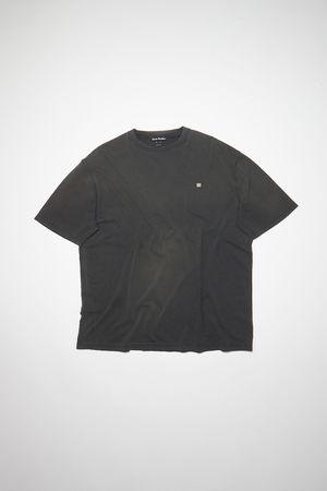 Acne Studios  FA-UX-TSHI000079 Schwarz Oversized T-Shirt