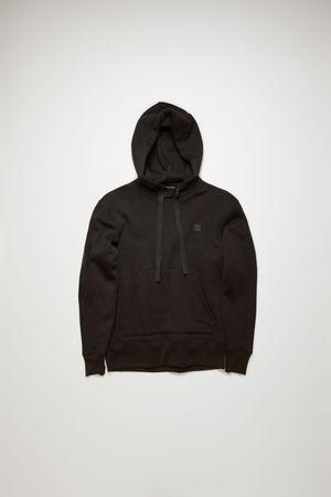 Acne Studios  Ferris Face Schwarz  Kapuzen-Sweatshirt grau