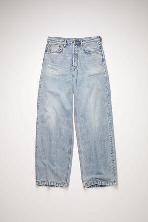 Acne Studios  FN-MN-5PKT000103 Light blue Loose fit jeans grau