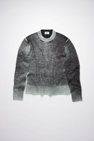 Acne Studios  FN-MN-KNIT000248 Black Pilled sweater