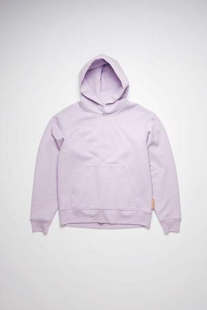 Acne Studios  FN-MN-SWEA000174 Light purple Classic fit hooded sweatshirt