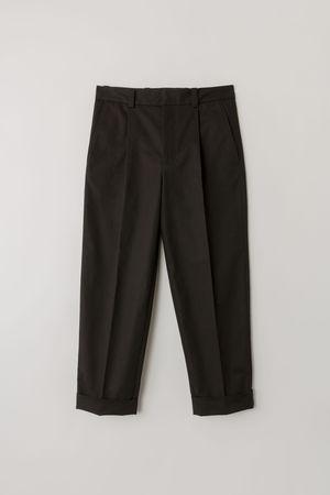 Acne Studios  FN-MN-TROU000220 Schwarz  Hose mit Falten grau