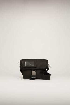 Acne Studios  FN-UX-BAGS000024 Black  Mini messenger bag braun