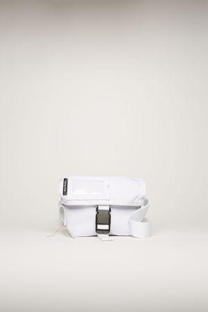 Acne Studios  FN-UX-BAGS000024 White Mini messenger bag braun