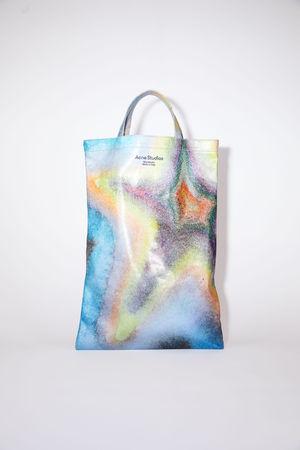 Acne Studios  FN-UX-BAGS000040 Multicolor Oilcloth tote bag
