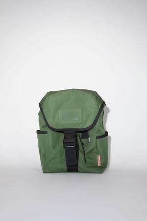 Acne Studios  FN-UX-BAGS000050 Dark green  Large backpack grau