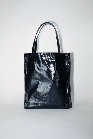 Acne Studios  FN-UX-BAGS000055 Black  Oilcloth tote grau