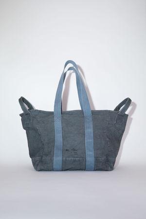 Acne Studios  FN-UX-BAGS000057 Dark grey  Webbing tote bag grau