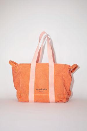 Acne Studios  FN-UX-BAGS000057 Orange  Webbing tote bag braun