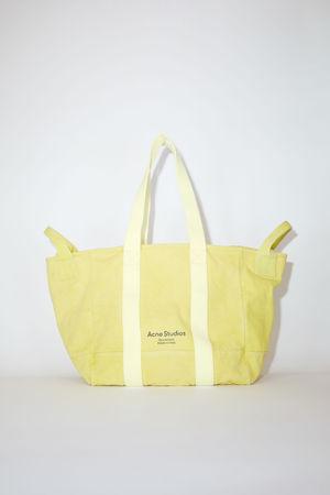 Acne Studios  FN-UX-BAGS000057 Yellow Webbing tote bag