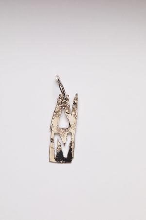 Acne Studios  FN-UX-JEWE000191 Silver  N earring grau