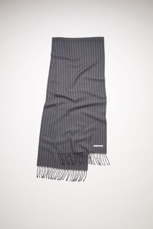 Acne Studios  FN-UX-SCAR000133 Grey  Striped wool scarf braun