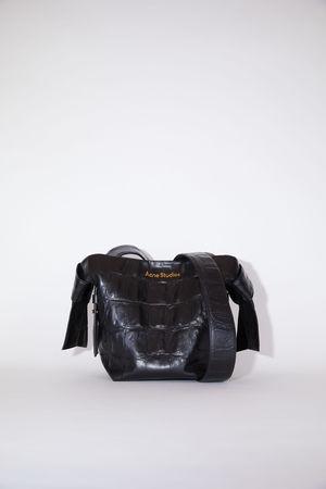 Acne Studios  FN-WN-BAGS000140 Black  Small leather bag grau