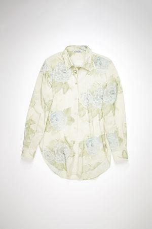 Acne Studios  FN-WN-BLOU000489 Pale blue  Long sleeve shirt grau