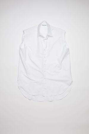 Acne Studios  FN-WN-BLOU000525 White  Sleeveless shirt