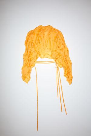 Acne Studios  FN-WN-BLOU000543 Sunflower yellow Long sleeve shirt