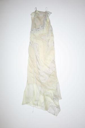 Acne Studios  FN-WN-DRES000553 Light grey Silk habotai dress