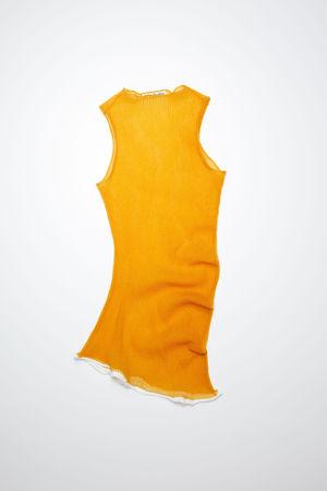 Acne Studios  FN-WN-KNIT000358 Apricot orange  Nylon sweater