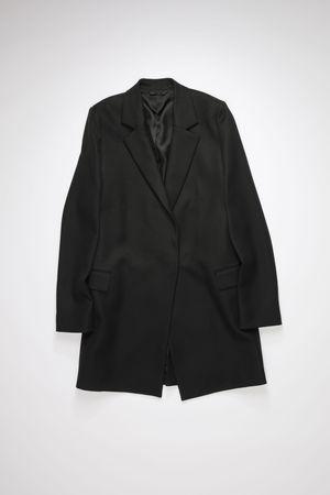 Acne Studios  FN-WN-OUTW000440 Black Double-breasted coat grau