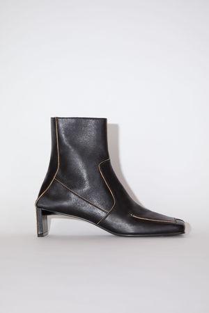 Acne Studios  FN-WN-SHOE000471 Schwarz  Ankle Boots aus Leder