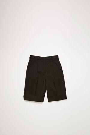 Acne Studios  FN-WN-SHOR000004 Schwarz  Shorts aus Woll-Mix braun