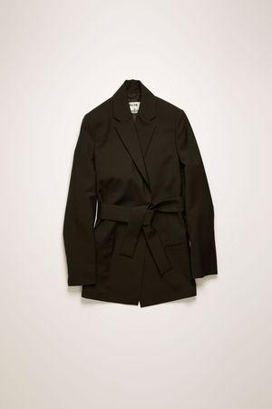 Acne Studios  FN-WN-SUIT000110 Schwarz  Zweireihiger Blazer grau