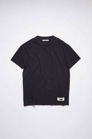 Acne Studios  FN-WN-TSHI000334 Black  Label t-shirt