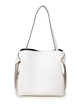 Acne Studios  - Handtasche 'Musubi Midi Bag' Weiß