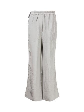 Acne Studios  - Hose mit geradem Bein und Knittereffekt Grau grau