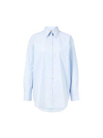 Acne Studios  - Oversize-Bluse 'Stella' Hellblau blau