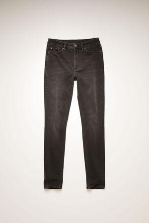 Acne Studios  Peg Used Blk Used black Skinny fit jeans braun