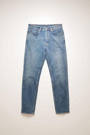 Acne Studios  River Mid Blue Mid Blue Slim tapered jeans braun