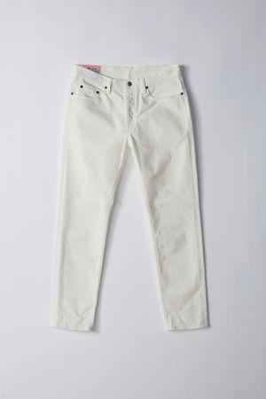 Acne Studios  River White Farbe  Jeans mit schmal zulaufendem Bein grau