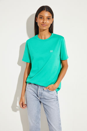 Acne Studios  - T-Shirt 'Ellison' Mint 100% Baumwolle Made in Portugal
