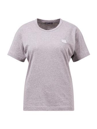 Acne Studios  - T-Shirt 'Nash Face' Grau 100% Baumwolle Das Model ist 180 cm und trägt Größe XS Maße der Größe XS: - Gesamtlänge: 64 cm - Brustweite: 47 cm braun