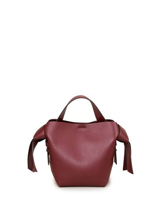 Acne Studios  - Tasche 'Musubi Mini Bag' Bordeaux braun