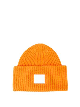 Acne Studios  - Woll-Mütze Orange
