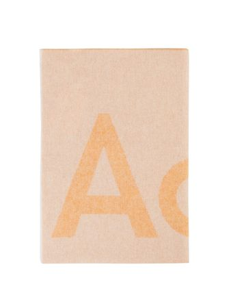 Acne Studios  - Woll-Schal 'Toronty' Orange