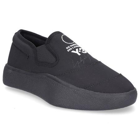adidas Y-3 Sneaker low TANGUTSU  Nylon Logo Patch Stickerei schwarz grau