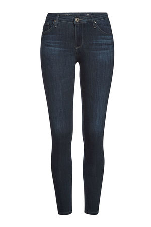 Adriano Goldschmied AG Jeans Super Skinny Jeans The Legging Ankle grau