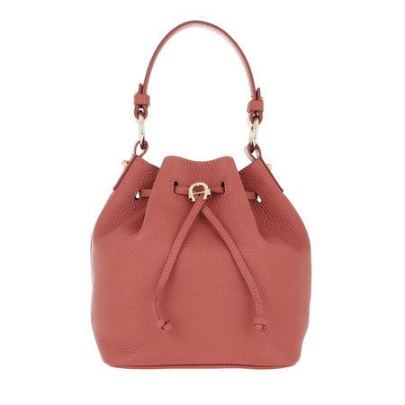 Aigner  Beuteltasche  -  Tara Bucket Bag Dusty Rose  - in rosa  -  Beuteltasche für Damen rot