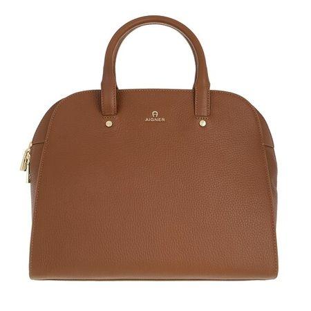 Aigner  Bowling Bag - Ivy Handbag - in brown - für Damen
