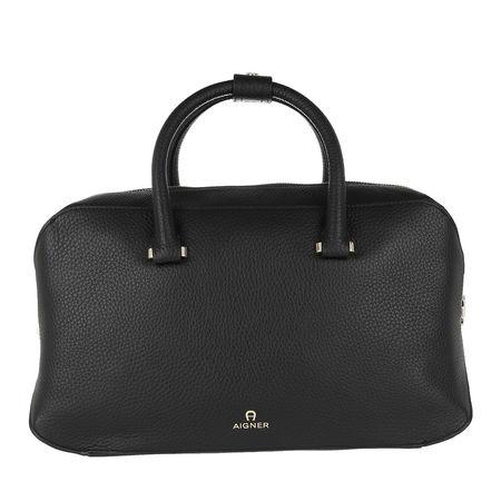 Aigner  Bowling Bag - Milano Handle Bag - in schwarz - für Damen grau