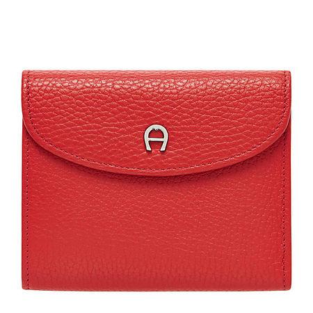 Aigner  Damen Basics Kombibörse, Prägung in Rot rot
